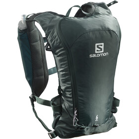 Salomon Agile 6 Trinkrucksack green gables